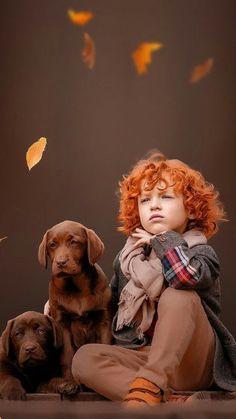 Dogs And Kids, Animals For Kids, Baby Animals, Cute Animals, Funny Kids, Cute Kids, Cute Babies, Precious Children, Beautiful Children