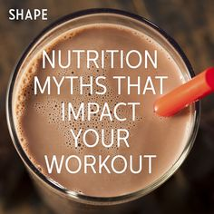 Following a vegetarian or vegan diet negatively impacts workout performance. Chocolate milk serves as a great postworkout recovery drink. Caffeine enhances your workouts.