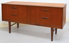 Retro Teak and Afromosia Chest of Drawers by Jentique