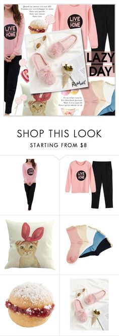 """""""Sleep In: Lazy Day"""" by shambala-379 ❤ liked on Polyvore"""