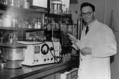 #HistSci #OTD - 25 August 1900  Hans Adolf Krebs is born in Hildesheim, Germany. He is most famous for discovering the complicated sequence of chemical reactions involved in the breakdown of glucose into carbon dioxide and water, happening all the time in every single cell of your body. This steady release of energy keeps you alive and is known as the Krebs cycle.  © Keystone/Getty Images