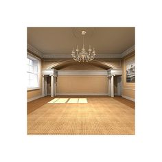 3D max interior classic victorian ❤ liked on Polyvore featuring rooms, backgrounds, empty rooms, interior and home