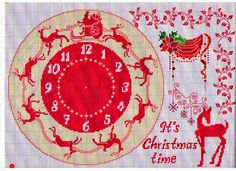 Embroidery, works and hundreds of cross-stitch patterns of all types, free: Patterns CHRISTMAS
