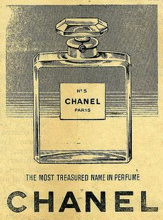 Retro Vintage 1958 Chanel vintage advertisement - These adverts are scans from the 1958 Christmas Day edition of the Times of Cyprus newspaper, when advertising was alot less sophisticated! Although this advert still looks a classic to this day. Chanel Vintage, Vintage Perfume, Poster Design, Graphic Design, Vintage Design Poster, Design Design, Logo Design, Old Posters, Travel Posters