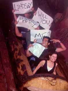 Awesome Proposal/ don't let Skyler see this we may tell whomever, whenever. that proposes to her.