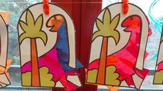 Witraże o prehistorii i dinozaurach #przedszkole #swiatdziecka