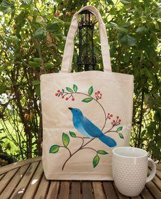 This item is unavailable Diy Tote Bag, Tote Bags Handmade, Fabric Painting, Fabric Art, Painted Bags, Hand Painted, Fabric Paint Designs, Fabric Markers, Jute Bags