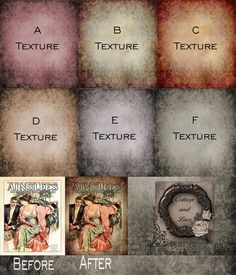 Digital Textures Overlays Digital Background and by CottageAndLace