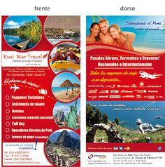 folleto empresa de turismo