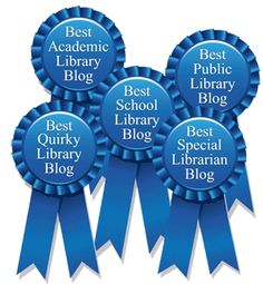 Drumroll, Please: The public has voted online. All votes have been tallied. The judges have now spoken. Special Library, Green Library, Voting Online, Teacher Librarian, Library Lessons, Media Center, Cool Posters, Award Winner, Make Money Blogging