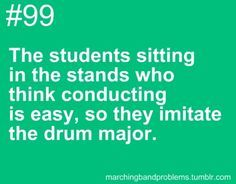 Drum Major on Pinterest | Marching Band Problems