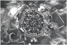 Artem Grigoryev Evil Art, Occult Art, Satan, Dark Art, Ultra Violet, My Works, Mystic, Fantasy Art, Symbols