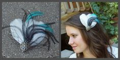 Bridal/ Special Occasion Feather Hair pc. SALE