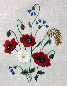 Hand Embroidery Art, Embroidery Motifs, Wool Applique, Wool Felt, Needlework, Cross Stitch, Crochet, Prints, Flowers