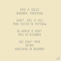 Geboorte tekstje, gedichtje van Gewoon JIP.:
