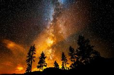 sky landscape night stars nature milky way nightscape Astronomy atmosphere vertical mposts All Nature, Science And Nature, Amazing Nature, Nature Images, Beautiful Sky, Beautiful World, Beautiful Nature Scenes, Cosmos, To Infinity And Beyond