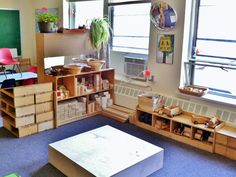 """Lovely photos of the Block Area at art and soul preschool ("""",)"""
