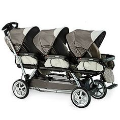 can not do without our Peg Triple Stroller !