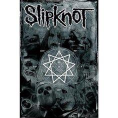 Pentagram - Póster por #Slipknot $6.99 € en  #empspain la mayor tienda online de Europa de Merchandising oficial de bandas de #Metal  #HardRock  #Heavy  Ropa #Gotica  #Punk y todo lo que te hace falta para vivir el Rockstyle en toda su dimensión... #emp #Rock Mailorder #spain