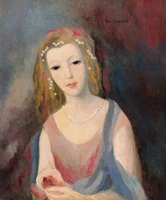 Marie Laurencin, Jeune fille  la chevelure fleurie