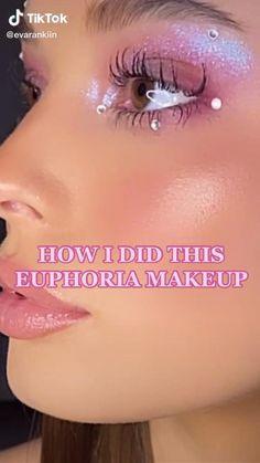 Eye Makeup Steps, Makeup Eye Looks, Creative Makeup Looks, Eye Makeup Art, Beauty Makeup, Edgy Makeup, Cute Makeup, Pretty Makeup, Makeup Inspo