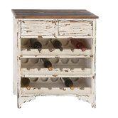 Found it at Wayfair - Morgan Wood 2 Drawer Wine Cabinet