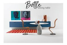 Perfekt Style Trends: Timeless Design Classics. Bottle Dining Table By Cappellini  This Striking Bottled Shaped