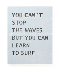 Matahari 'Learn to Surf' Sign