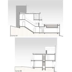 Imagem 6 de 19 da galeria de Casa AM / Arte Urbana Arquitetos. Cortes