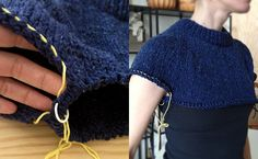 Top down raglan sweater tutorial. Blow by blow.