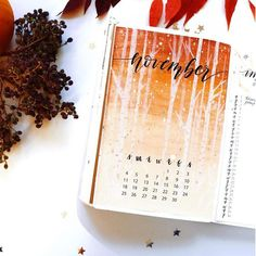 15 Cozy Bullet Journal Layouts Perfect For Fall - Bullet Planner Ideas 15 Cozy Bullet Journal Layouts Perfect For Fall - Nikola Kosterman Autumn Bullet Journal, Bullet Journal Cover Ideas, Bullet Journal Notes, Bullet Journal Hacks, Bullet Journal Spread, Bullet Journal Layout, Journal Covers, Bullet Journal Inspiration, Journal Ideas