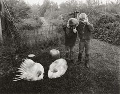 Barry & Dwayne,  Emmet Gowin.  1969