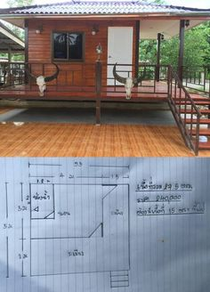 Choose Tiny House Interior Layouts For Greatest Efficiency Wooden House Design, Bamboo House Design, Modern Small House Design, Simple House Design, Rustic Home Design, Tiny House Design, Modern Bungalow House, Modern House Plans, Small House Plans