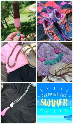 Summer style inspiration inspired by @weightwatchers ice cream bars! We're feeling PINK this summer! AD