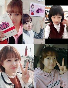 Park Bo Young siêu đáng yêu trong loạt hình selfie hậu trường 'Strong Woman Do Bong Soon'