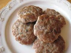 Turkey Sausage 1 lb 85% lean ground turkey 1/4 cup unsweetened applesauce 1 tbsp brown sugar 1 tsp kosher salt 1 tsp thyme 1/2 tsp ground black pepper 1/2 tsp sage 1/2 tsp garlic powder 1/4 tsp crushed red pepper flakes 1/4 tsp onion powder 1/4 tsp ground cloves 1/8 tea cayenne pepper (optional)  Mix together dry ingredients. Then mix in applesauce. Mix applesauce/spice mix into ground turkey. Cook. Store leftover in fridge for up to a week or freeze.