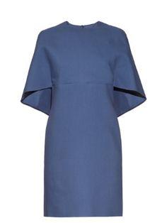 Open-back wool and silk-blend dress | Valentino | MATCHESFASHION.COM US