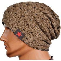 eda96fbfa72 Unisex Reversible Warm Winter Skull Knitted Baggy Beanie. Winter Knit  HatsWinter ...