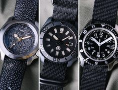 We asked three top watch modders to make the classic Seiko SKX007 Dive Watch their own.
