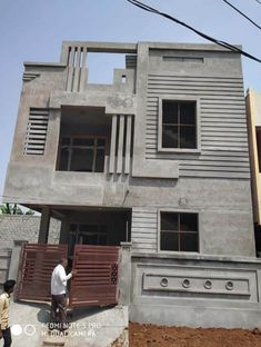 Beautiful Houses Under Construction - Engineering Discoveries House Front Wall Design, House Balcony Design, House Outer Design, Modern Small House Design, House Outside Design, 2 Storey House Design, Village House Design, Kerala House Design, Bungalow House Design