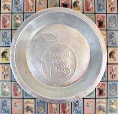 Vintage Poppin' Fresh Pie Pan 9 Inch Aluminum by autena on Etsy, $10.00