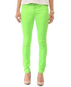neon green pants Gallery