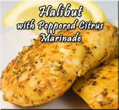 Halibut With Peppered Citrus Marinade Recipe from Mamma's Gluten Free Recipes