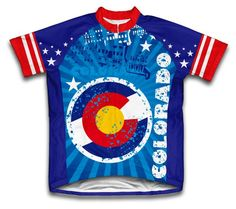Colorado Short Sleeve Cycling Jersey for Women  Size M * Continue to the product at the image link.Note:It is affiliate link to Amazon.