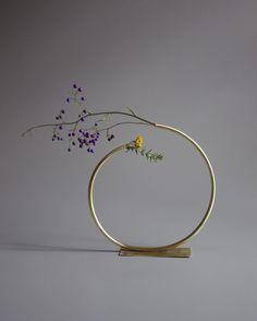 Brass Vase by Anna Varendorff. #p_roduct
