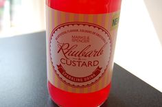 Hello, Terri Lowe // Beauty. Food. Fashion: Rhubarb and Custard Sparkling Drink