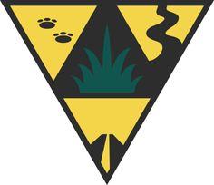 Label Brousse éclaireurs - Association des scouts du Canada - www.gabrielraymondgraphisme.com