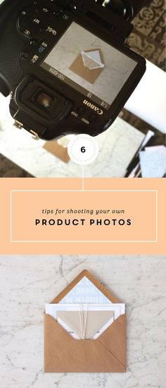 Taking your own product photography seems like a no brainer.But when you  end up having to re-shoot all of your photos because you did it wrong, that  can be a huge bummer. Here are 6 easy tips for shooting your own flat lat  product photography.