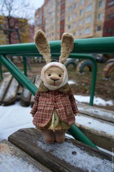 Teddy Bunny toy / Мишки Тедди ручной работы. Ярмарка Мастеров - ручная работа. Купить New ЗайУшка тедди медведи. Handmade. Бежевый, СССР
