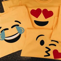 SVG Cut Files for Cameo Cricut Silhouette.Craft it by BigDesignCo Emoji Svg, Unicorn Emoji, Svg Cuts, Cutting Files, Cricut, Etsy Seller, Smiley Faces, Shirts, Silhouette